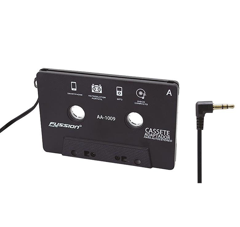 Imagen de CASSETTE ADAPTADOR MP3 CON CONECTOR 3.5MM / CABLE 1.80M