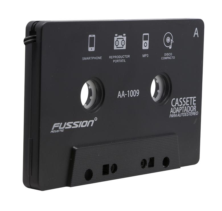 Foto de CASSETTE ADAPTADOR MP3 CON CONECTOR 3.5MM / CABLE 1.80M