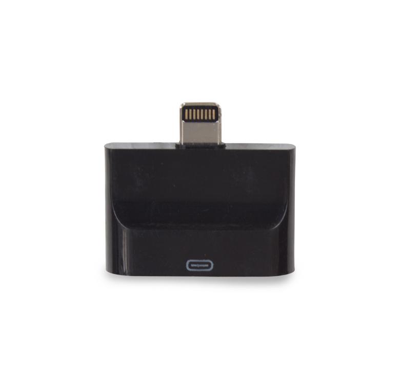 Imagen de ADAPTADOR PARA IPHONE CON CONECTOR IPHONE 5, 6, 7 A IPHONE 4 Y MICRO USB