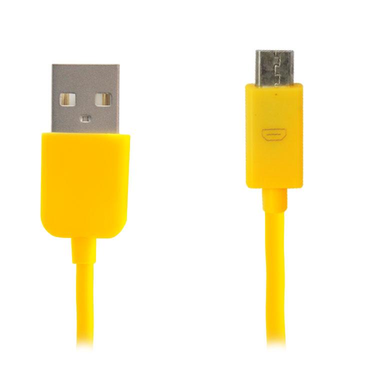 Imagen de CABLE ALIMENTADOR DE ENERGIA  Y DE TRANFERENCIA DE DATOS  USB MACHO A MICRO USB