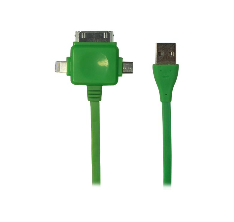 Imagen de CABLE CONVERTIDOR / TRANSFERENCIA DE DATOS Y CARGA / CONECTOR USB A MICRO USB, IP4, IP5 / 80CM