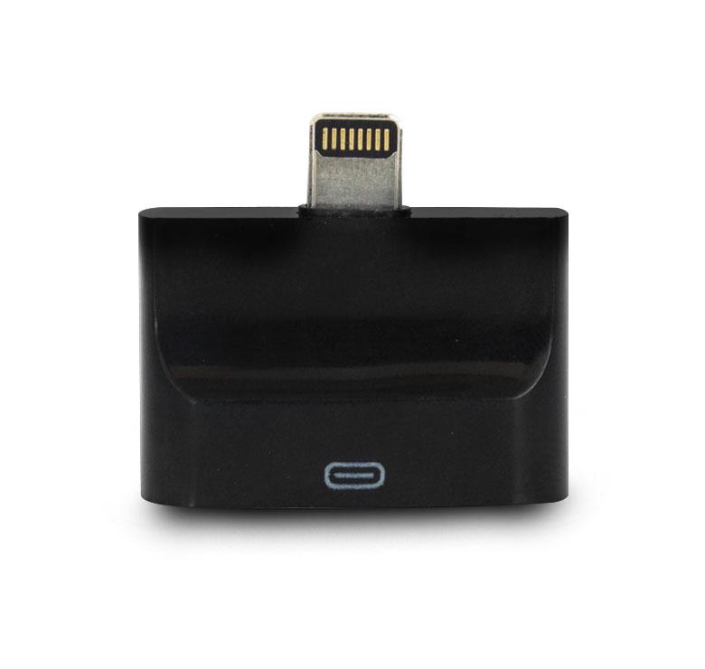 Imagen de LECTOR PARA IPHONE 5 CON ENTRADA MICRO USB Y DOC DE 30 CLAVIJAS / FINOS DETALLES EN SUS TERMINADOS