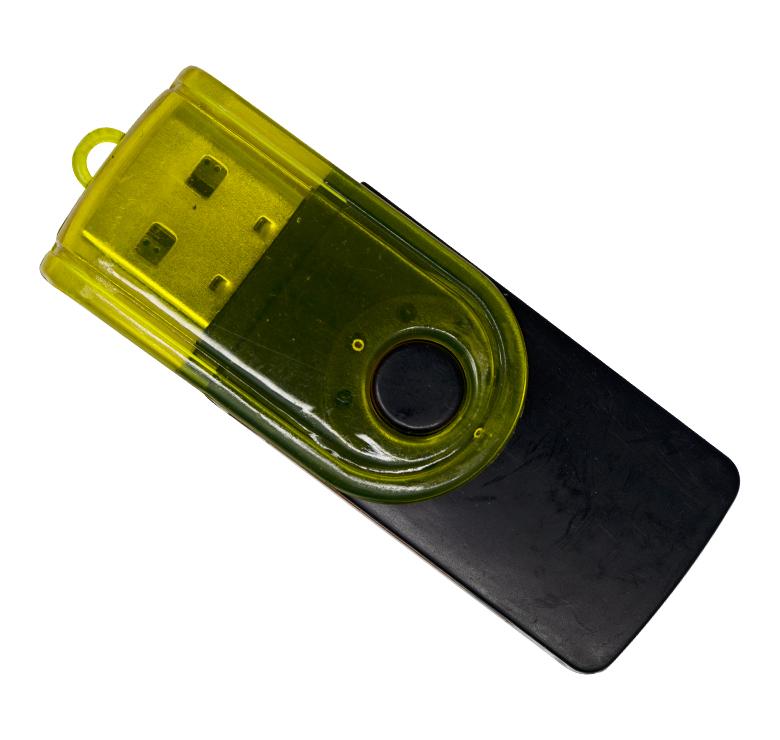 Imagen de LECTOR UNIVERSAL DE TARJETAS MICRO SD M2 MMC A USB
