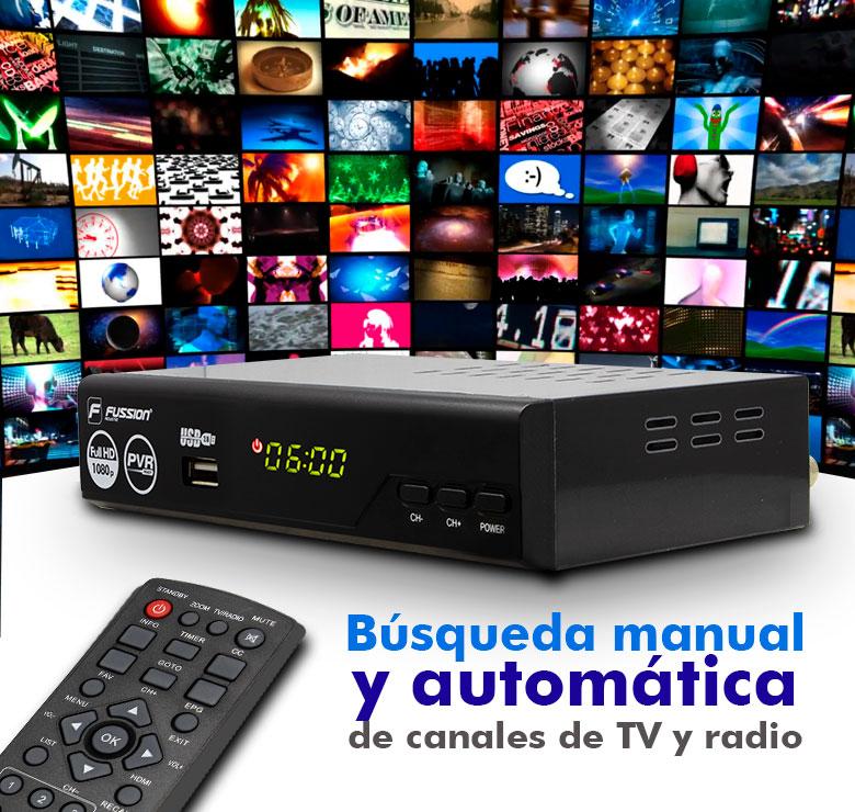 Foto de CONVERTIDOR DE SEÑAL DIGITAL A CANALES DIGITALES/IMAGEN EN ALTA DEFINICION/FULL 1080P/HDTV