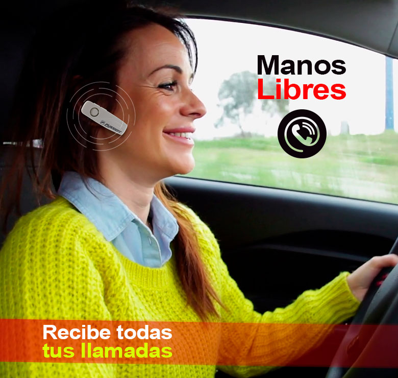 Foto de AUDIFONOS MANOS LIBRES BLUETOOTH / DISTANCIA DE USO: 10M