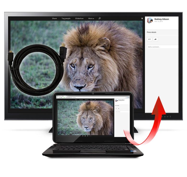 Foto de CABLE CON CONECTOR HDMI MACHO A MICRO HDMI / 3M / BAÑO DE ORO EN PUNTAS