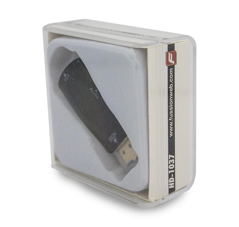 Foto de ADAPTADOR VGA HEMBRA A HDMI MACHO