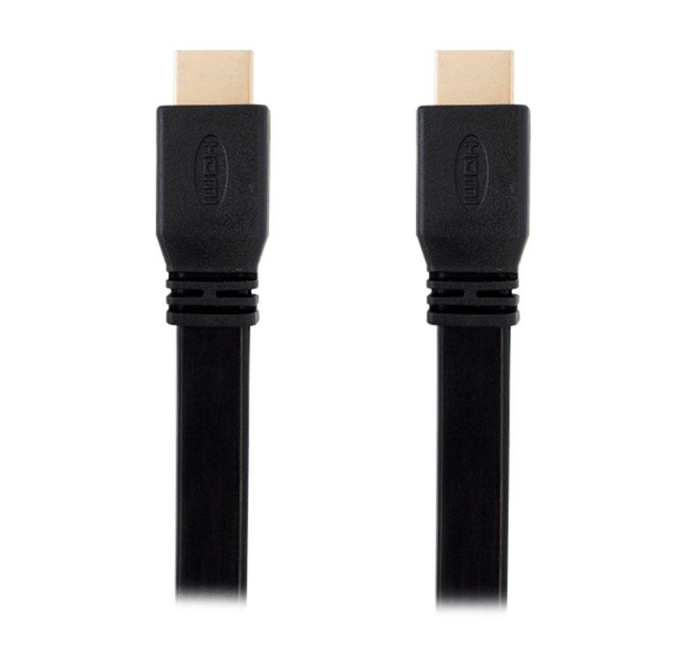 Imagen de CABLE PLANO CON CONECTOR HDMI A HDMI / 3M