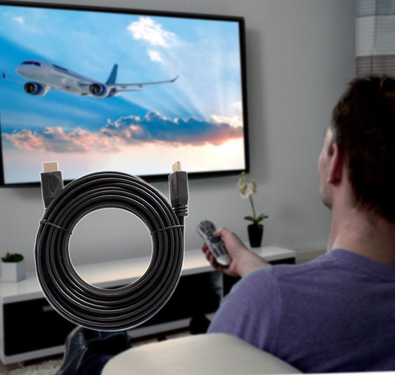 Foto de CABLE PLANO CON CONECTOR HDMI A HDMI / 6M