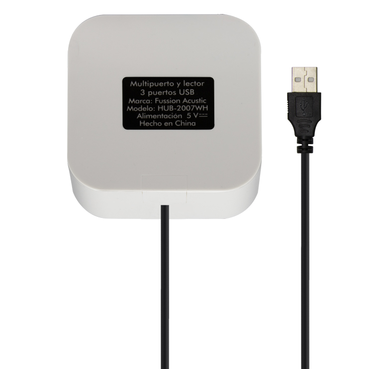Foto de MULTIPUERTO USB 2.0 / 3 PUERTOS USB/MULTICARD LECTOR HUB