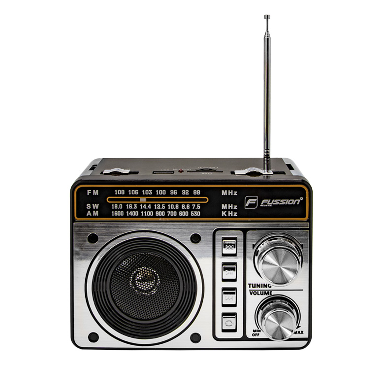 Imagen de BOCINA PORTATIL RECARGABLE 500 WATTS PMPO/MP3/USB/TARJETA TF/FM/ANT/AM