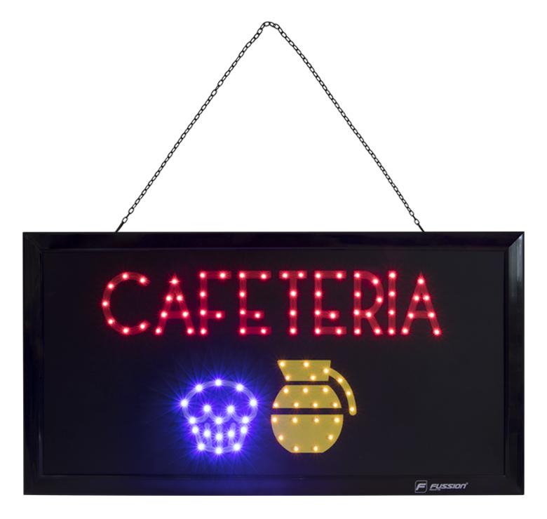 """Imagen de ANUNCIO LUMINOSO LED """"CAFETERIA"""" 10W 99 LEDS"""