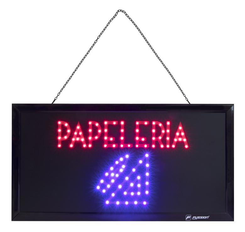 """Imagen de ANUNCIO LUMINOSO LED """"PAPELERIA"""" 10W 96 LEDS"""