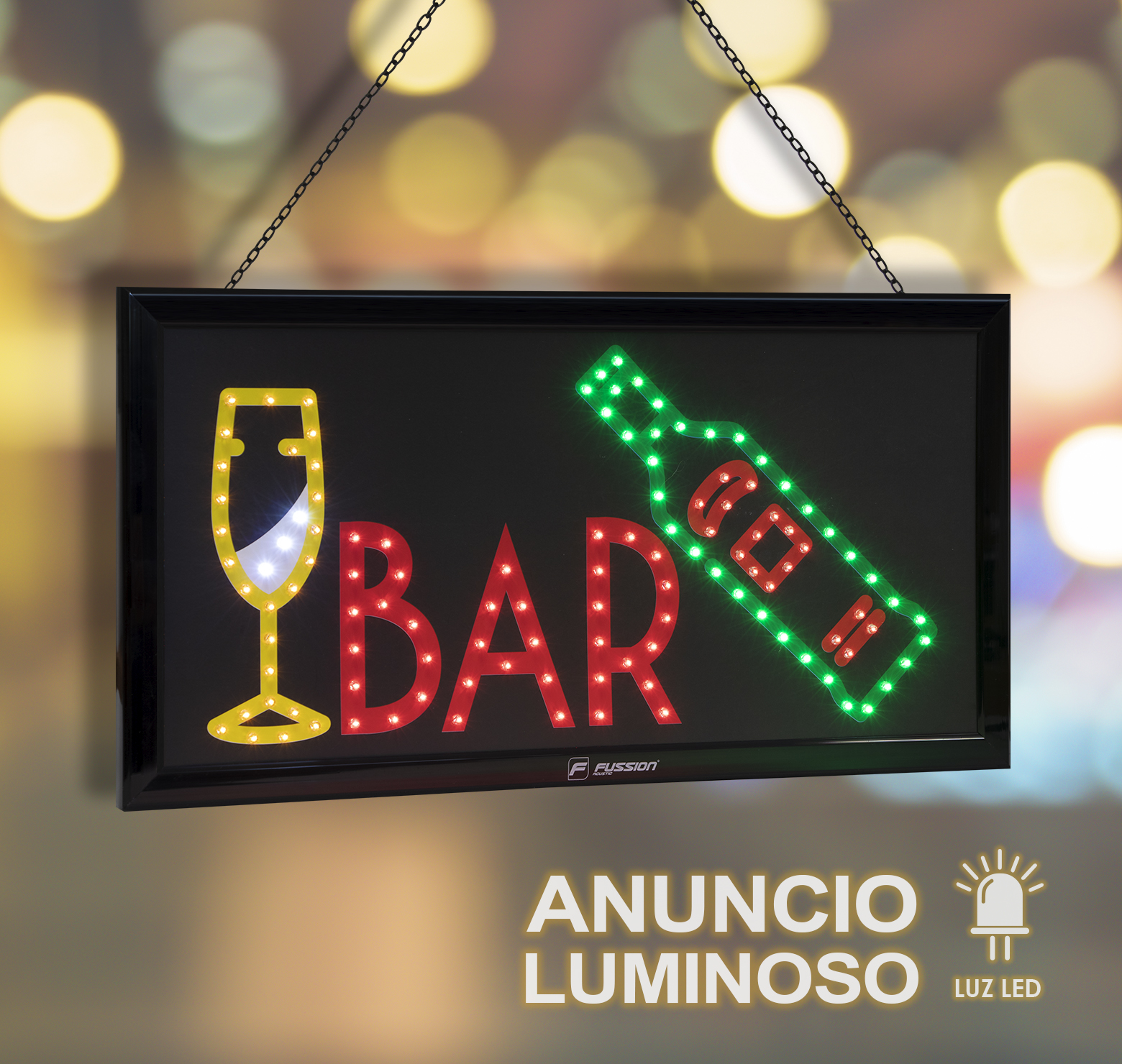 "Foto de ANUNCIO LUMINOSO LED ""BAR"" 10W 118 LEDS"