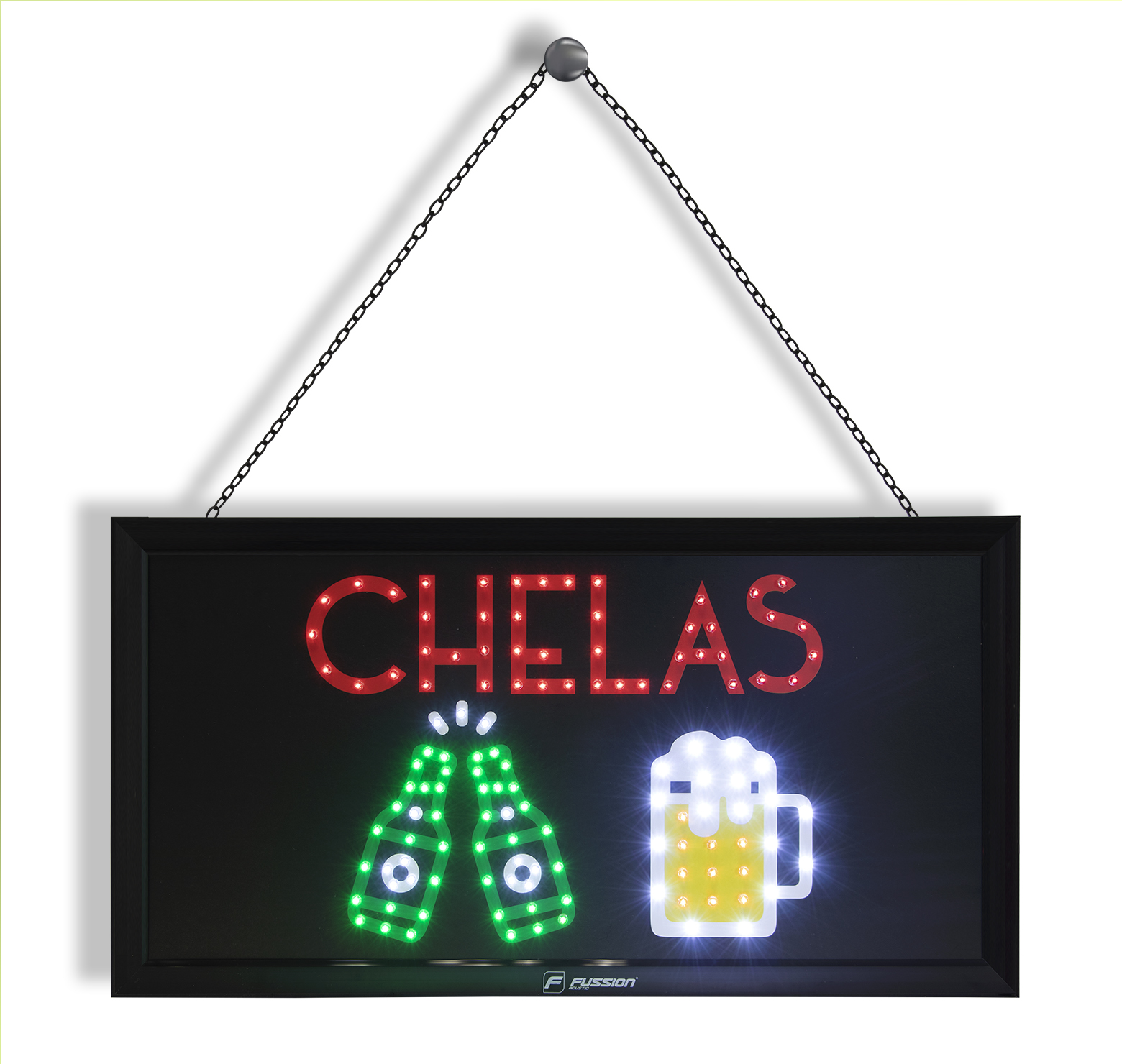 "Foto de ANUNCIO LUMINOSO LED ""CHELAS"" 127 LEDS"