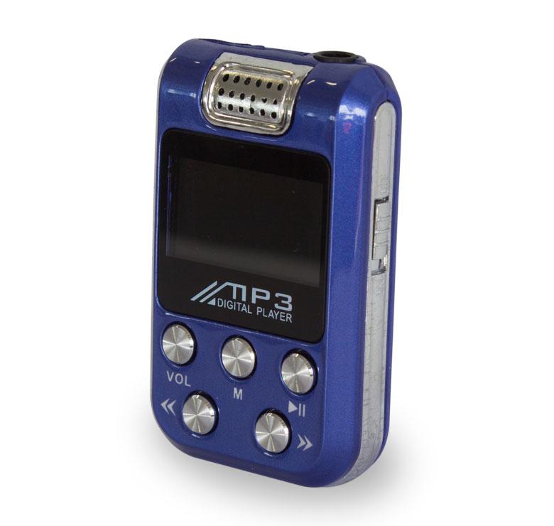 Imagen de REPRODUCTOR MP3 2 GB C/ BOCINA AZUL
