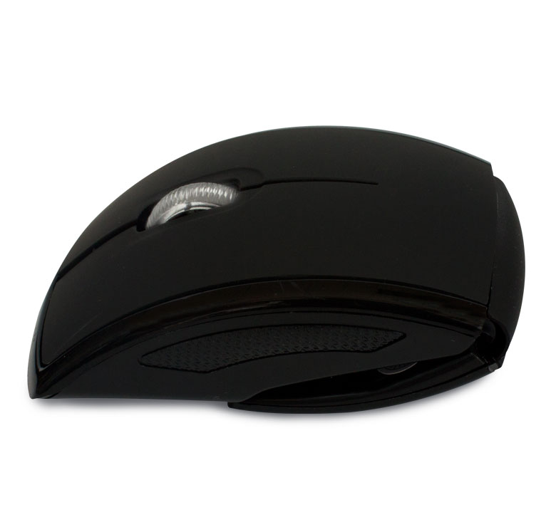 Foto de MOUSE OPTICO INALAMBRICO USB / NEGRO