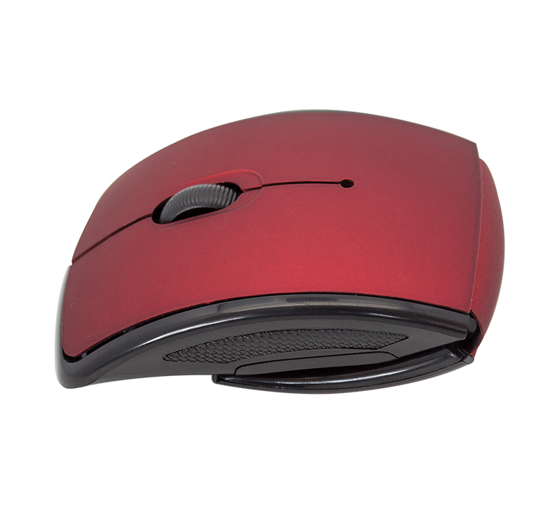 Foto de MOUSE OPTICO INALAMBRICO USB / ROJO