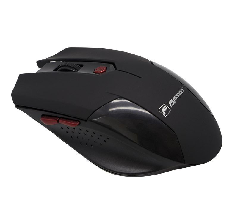 Foto de MOUSE OPTICO INALAMBRICO LUZ LED