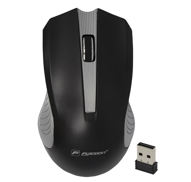 Foto de MOUSE OPTICO INALAMBRICO/2.4 GHz/ERGONOMICO