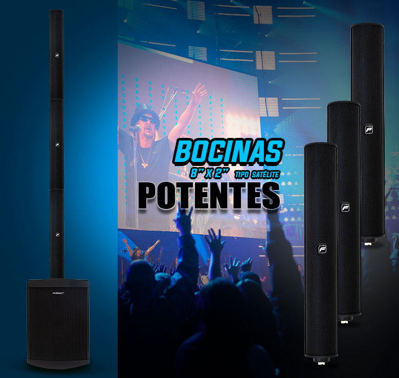 "Foto de WOOFER AMPLIFICADO CON SATELITE/WOOFER 10""/SATELITE 8x2""/500W RMS/USB/SD/MP3"