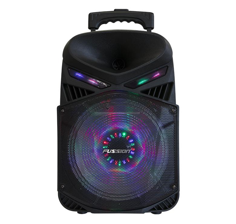 "Imagen de BAFLE AMPLIFICADO DE 10"" 10000W PMPO RECARGABLE BLUETOOTH USB SD FM LUZ LED CONTROL REMOTO"