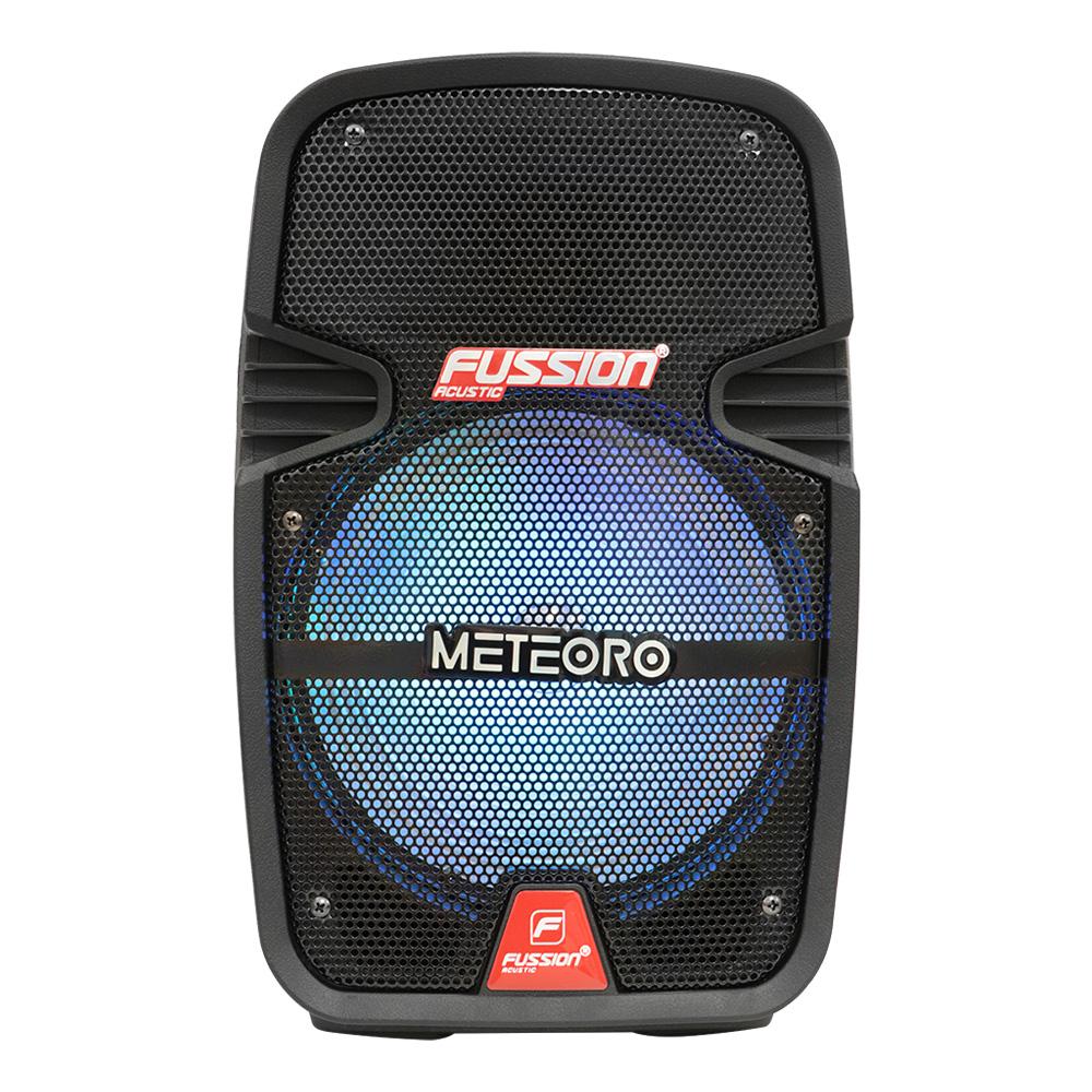 """Imagen de BAFLE AMPLIFICADO 8"""" 5 000 W PMPO/TWS/RECARGABLE/BT/FM/USB/SD/AUX/6.3 mm/LUZ LED/CONTROL/MIC ALÁMBRI"""