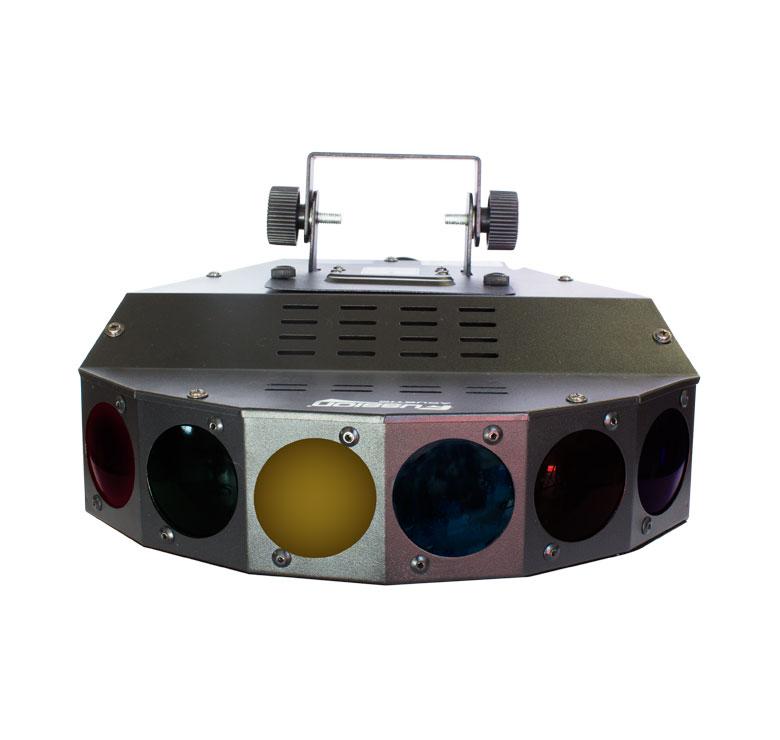 Imagen de LUZ DE EFECTO FIVE STAR REFLECTOR 5 COLORES PROFESIONAL / AUDIO RITMICO