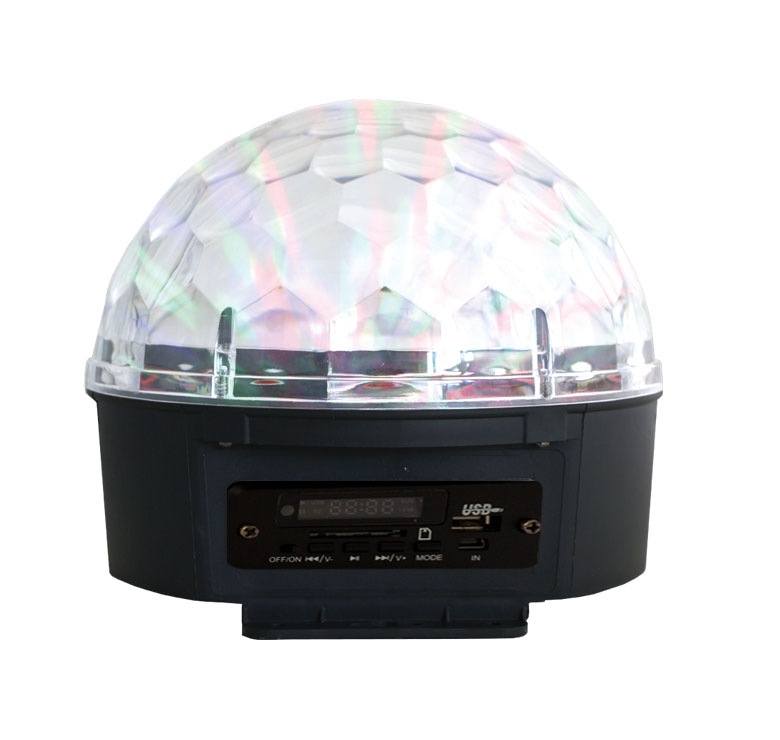 Imagen de LAMPARA GIRATORIA LED MP3 USB SD
