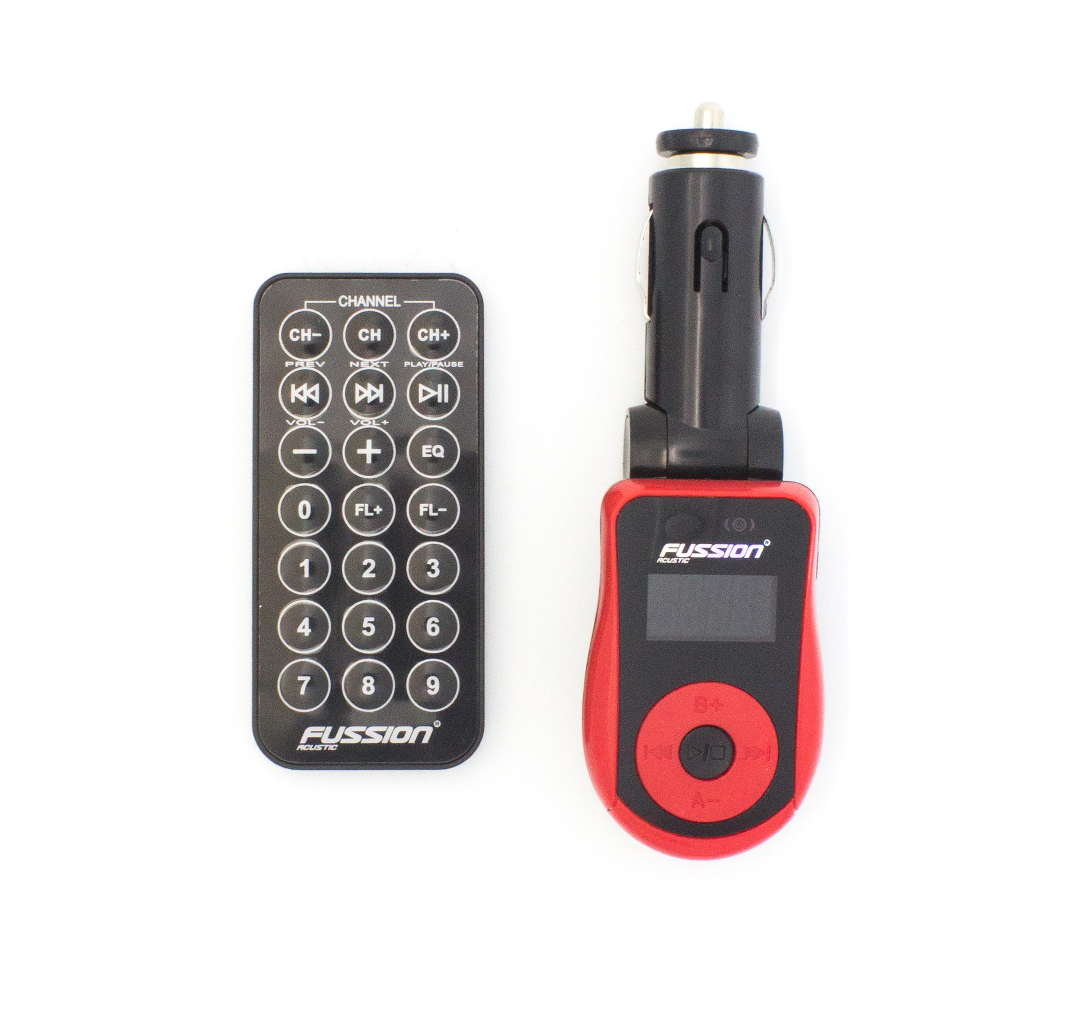 Imagen de TRANSMISOR FM CON PUERTO USB, RANURA PARA SD / INCLUYE CONTROL REMOTO