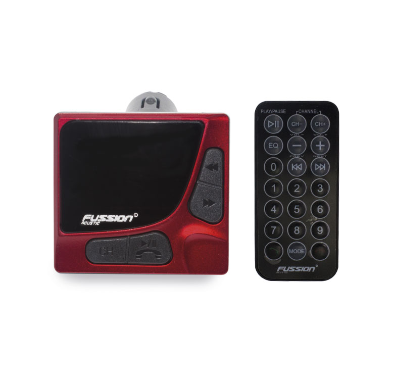 Imagen de TRANSMISOR FM / ENTRADA USB, MICRO SD / CONTROL REMOTO / FUNCION MANOS LIBRES