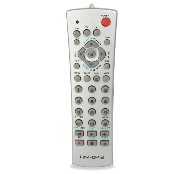 Imagen de CONTROL REMOTO PARA TV, DVD, VCR Y CABLE