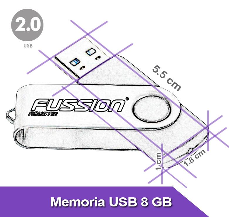 Foto de MEMORIA USB 8GB